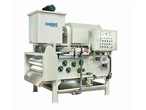 HTA Belt Filter Press Combined Rotary Drum Thickener, Economical Type