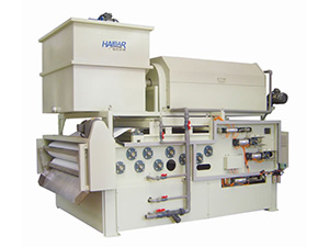 HTBH Belt Filter Press Combined Rotary Drum Thickener, Standard Type