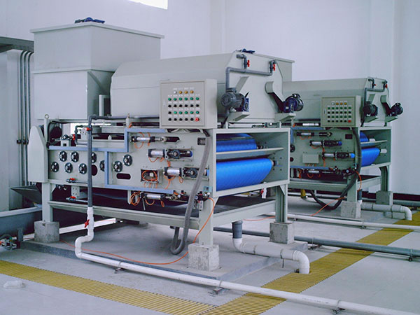 Belt Filter Press, Sludge Dewaterer